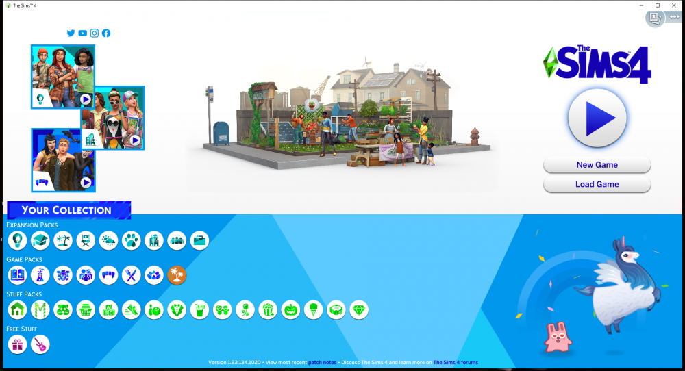 The Sims 4 Game Version 1.63.134.1020.png