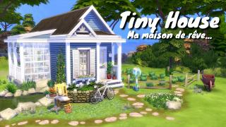 DREAMY TINY HOUSE / SPEED BUILD - NOCC - SIMS 4