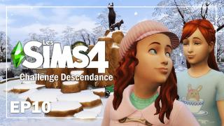 EMY ET PRUNE 🎂 EP10 | CHALLENGE DESCENDANCE | Sims 4  Let's play fr