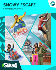 Les Sims 4 - Escapade Enneigée - Pack Extension 10 : Logos, Renders, Artwork