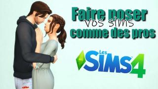 Comment utiliser facilement le mod Andrew's Pose Player? / TUTO / SIMS 4