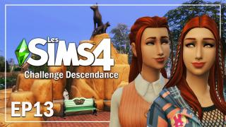 LA VIE D'ADO VA COMMENCER EP13 | CHALLENGE DESCENDANCE | Sims 4  Let's play fr