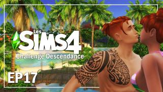 UN AMOUR DE VACANCES..EP17 | CHALLENGE DESCENDANCE | Sims 4  Let's play fr