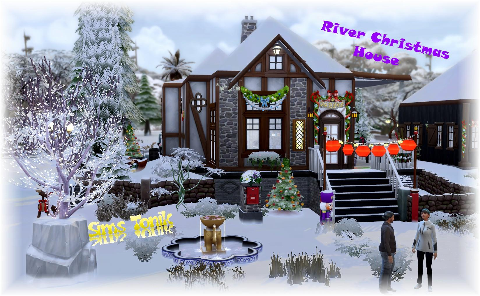 River Christmas House
