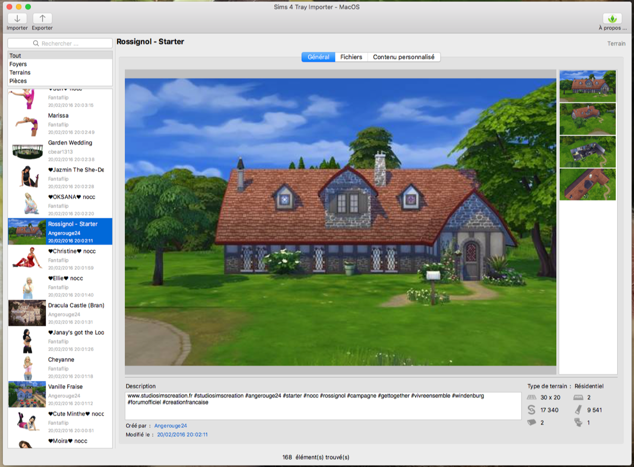 Sims 4 Tray Importer for Mac