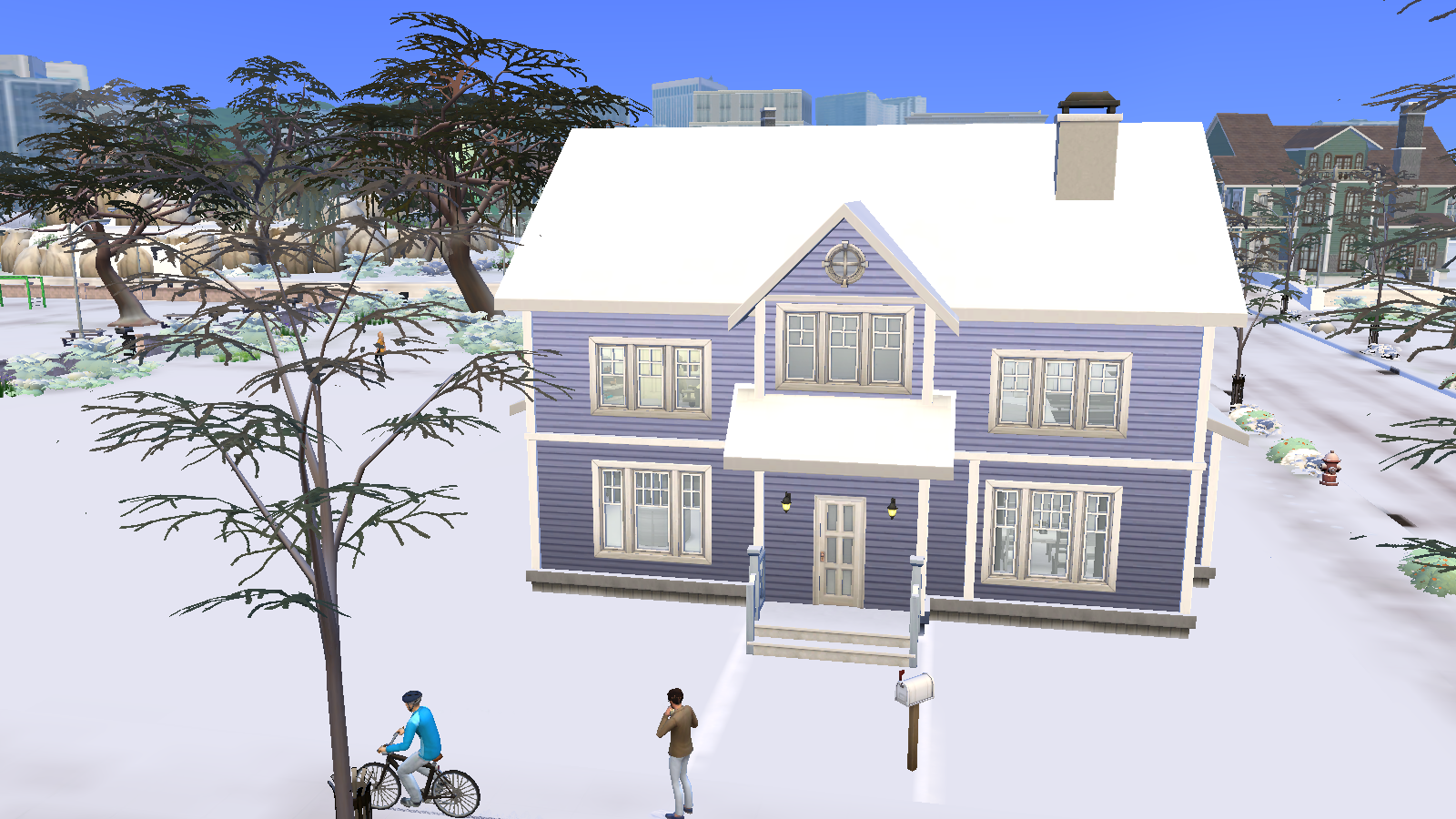 My perfect family house