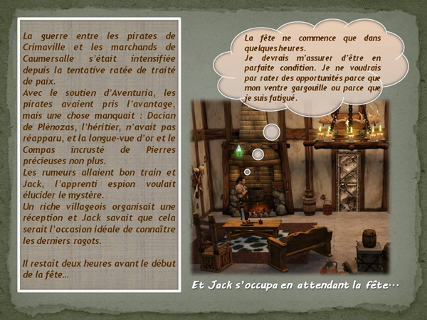 Sims medieval nobles et pirates - quete secrets et succession 02