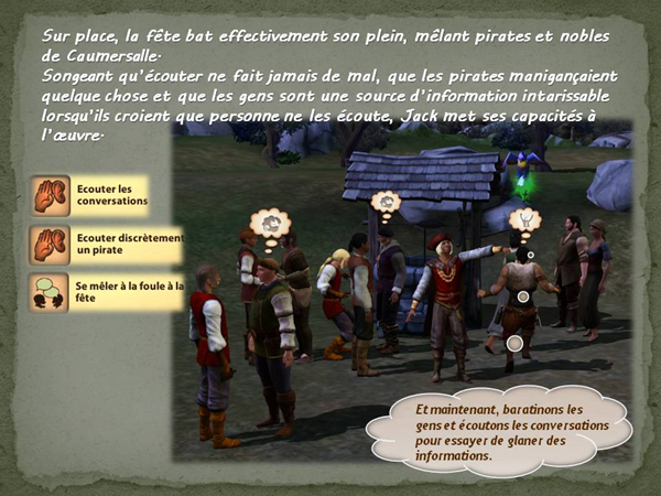 Sims medieval nobles et pirates - quete secrets et succession 04