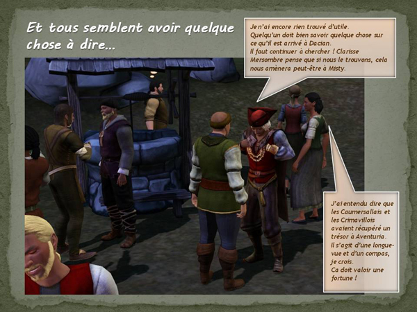 Sims medieval nobles et pirates - quete secrets et succession 05