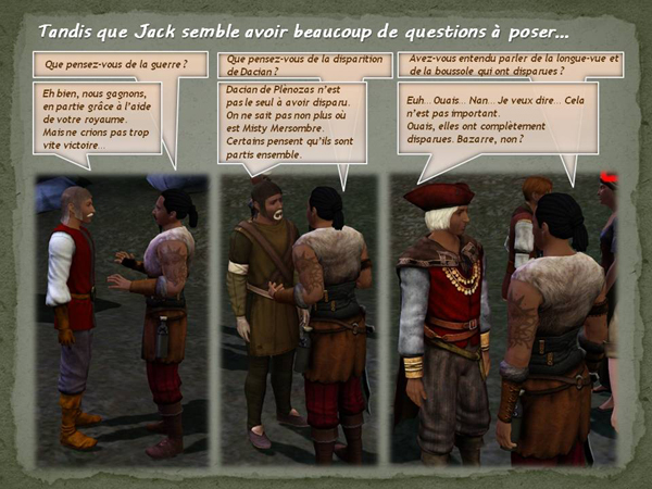 Sims medieval nobles et pirates - quete secrets et succession 06