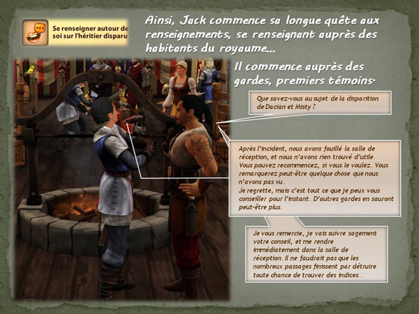 Sims medieval nobles et pirates - quete secrets et succession 08