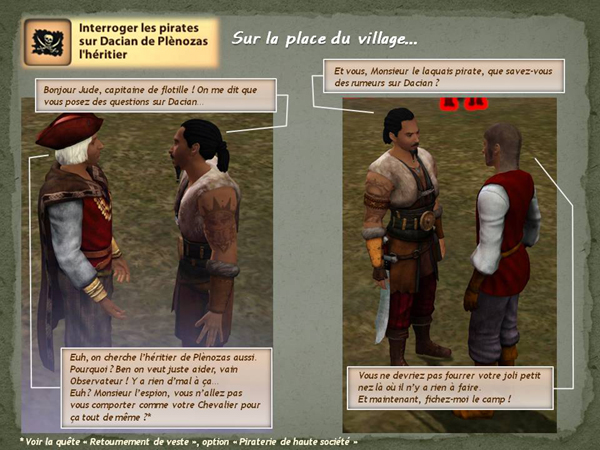 Sims medieval nobles et pirates - quete secrets et succession 13