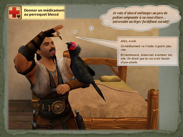 Sims medieval nobles et pirates - quete secrets et succession 17