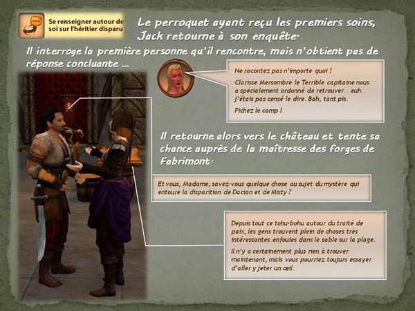 Sims medieval nobles et pirates - quete secrets et succession 19