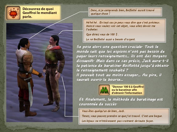 Sims medieval nobles et pirates - quete secrets et succession 22