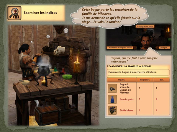 Sims medieval nobles et pirates - quete secrets et succession 23