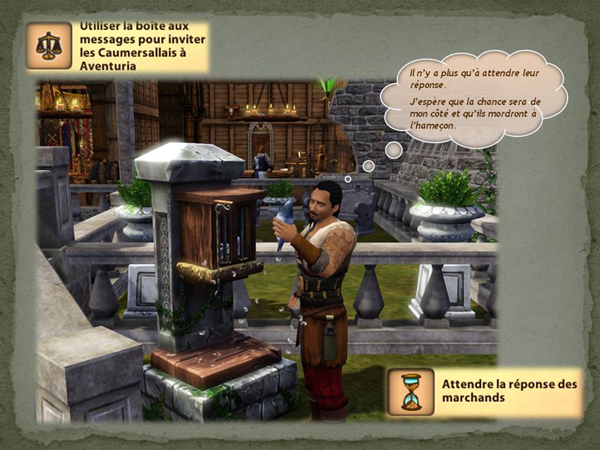 Sims medieval nobles et pirates - quete secrets et succession 31
