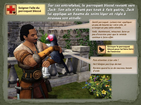 Sims medieval nobles et pirates - quete secrets et succession 32