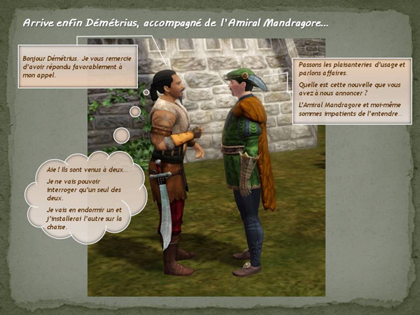 Sims medieval nobles et pirates - quete secrets et succession 35