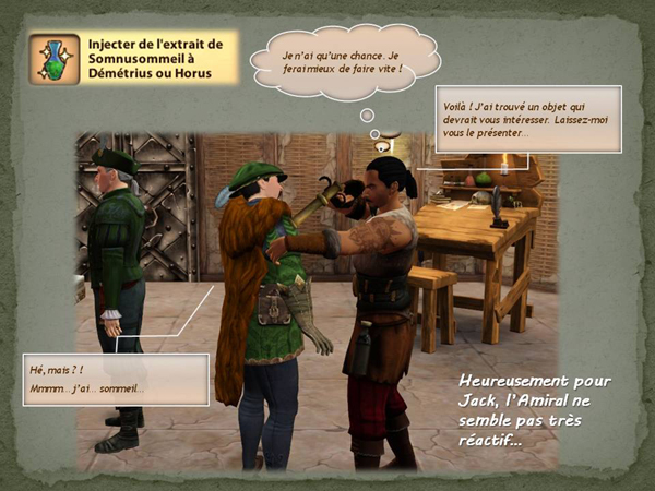 Sims medieval nobles et pirates - quete secrets et succession 36