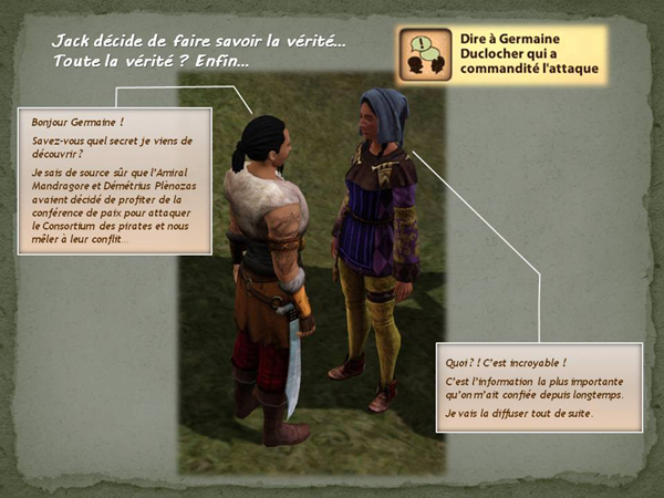 Sims medieval nobles et pirates - quete secrets et succession 46