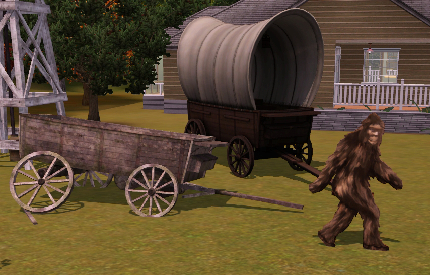 Sims3 Animaux - nouveaux objets - mode debug - objets western