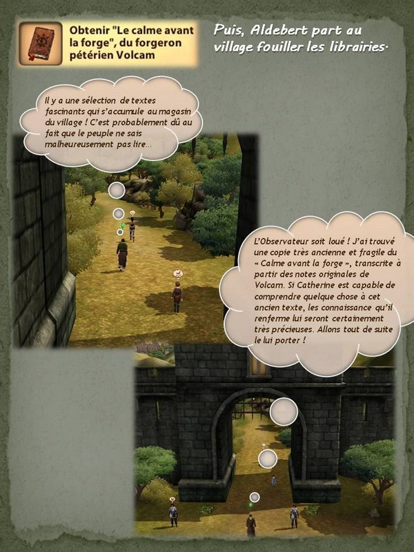Sims Medieval - Quete tranchant (10)