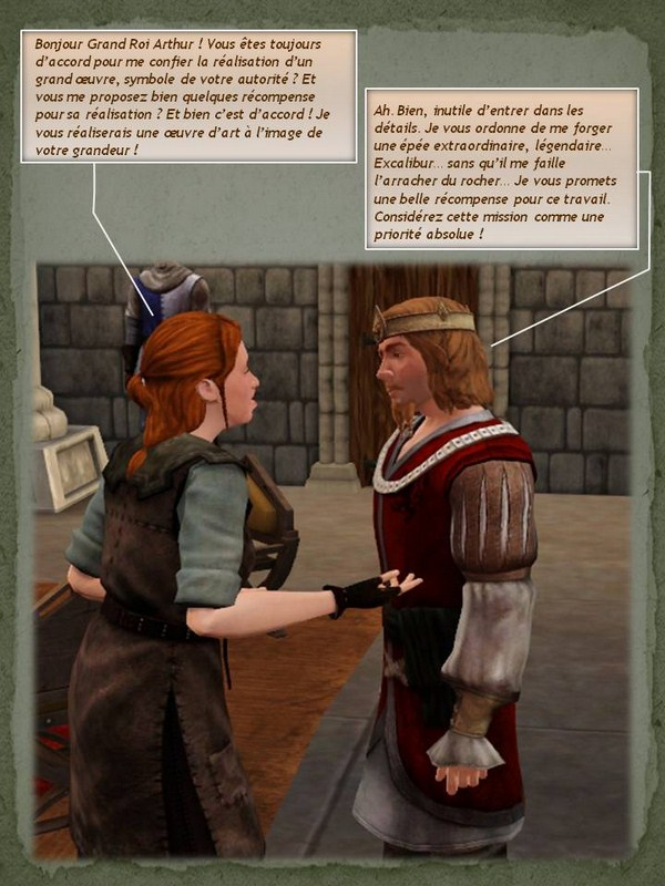 Sims Medieval - Quete tranchant (18)