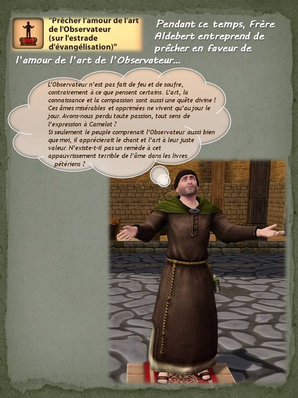 Sims Medieval - Quete tranchant (2)