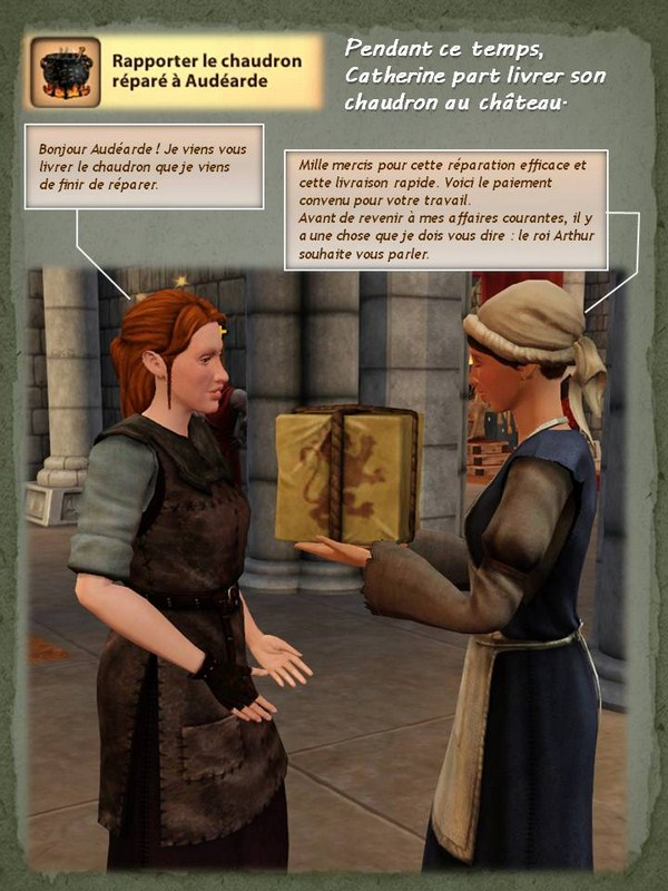 Sims Medieval - Quete tranchant (6)