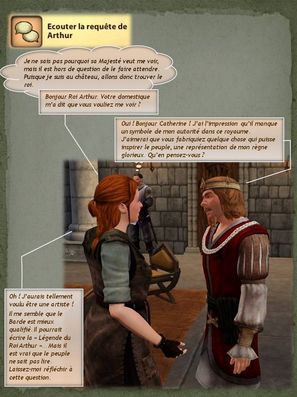 Sims Medieval - Quete tranchant (7)