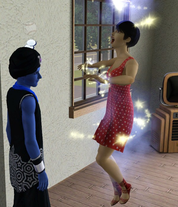 Sims3 Showtime-Realisation voeu