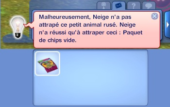 chasse paquet chips