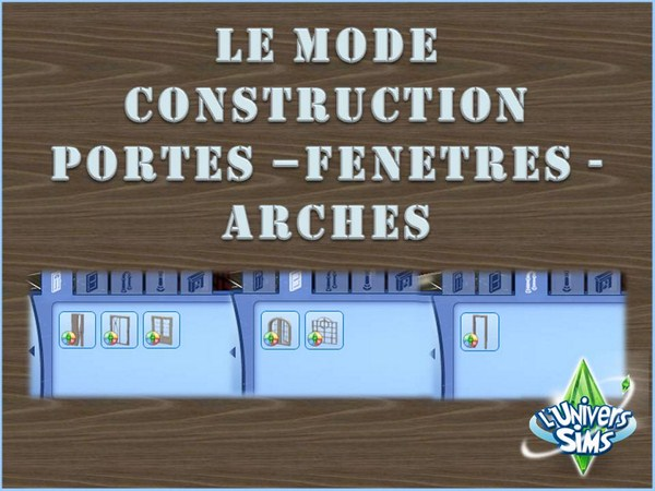 Sims-3-Saisons-Mode-Construction-portes-fenetres-arches-1